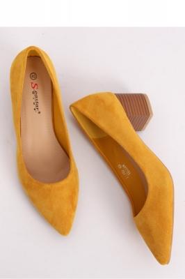 Pantofi dcu toc gros model 143530 Inello galben