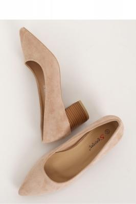 Pantofi dcu toc gros model 144896 Inello bej