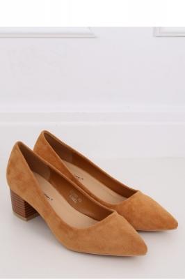 Pantofi dcu toc gros model 144897 Inello maro