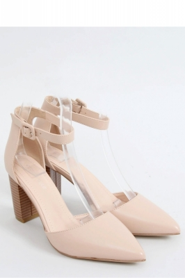 Pantofi dcu toc gros model 151415 Inello bej
