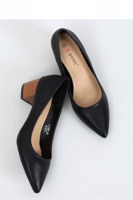 Pantofi dcu toc gros model 153401 Inello negru