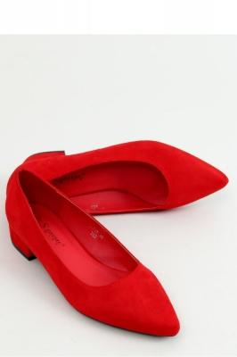 Pantofi dcu toc gros model 155195 Inello rosu