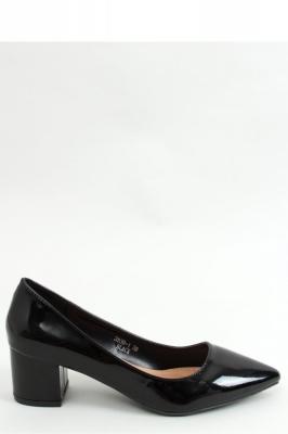 Pantofi dcu toc gros model 155354 Inello negru