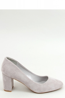 Pantofi dcu toc gros model 155592 Inello gri
