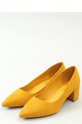 Pantofi dcu toc gros model 156325 Inello galben
