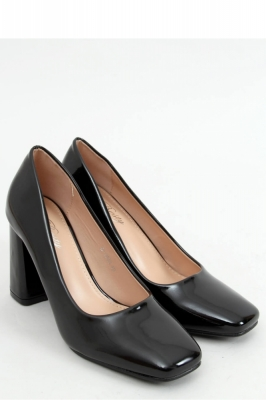 Pantofi cu toc gros Model 157980 Inello negru