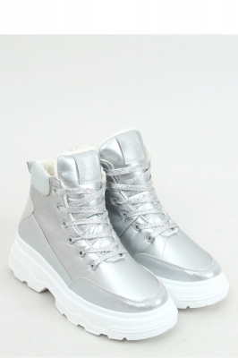 Pantofi sport talpa groasa Model 157986 Inello gri