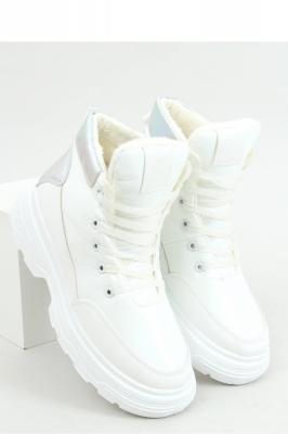 Pantofi sport talpa groasa Model 157988 Inello alb