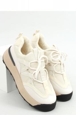 Pantofi sport talpa groasa Model 157992 Inello bej