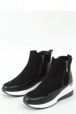 Pantofi sport talpa groasa Model 157995 Inello negru