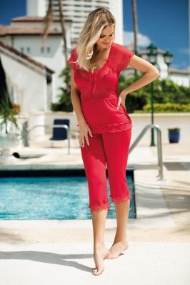 Pijama model 121679 DKaren rosu