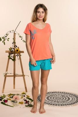 Pijama model 141788 Key portocaliu