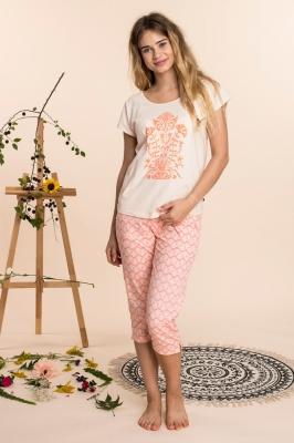 Pijama model 141793 Key roz