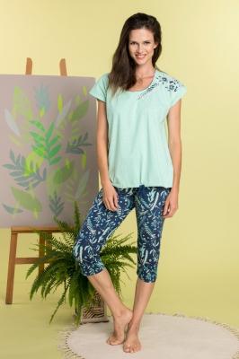 Pijama model 141794 Key verde