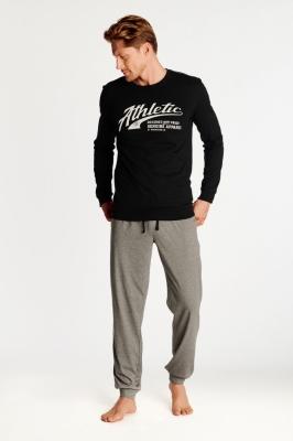 Pijama model 147076 Henderson negru