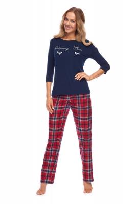 Pijama model 148412 Rossli Bleumarin