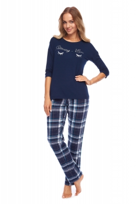 Pijama model 148414 Rossli Bleumarin