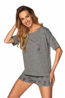 Pijama model 148415 Rossli gri