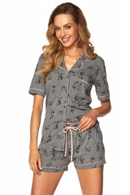 Pijama model 148418 Rossli gri