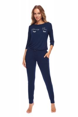 Pijama model 148421 Rossli Bleumarin