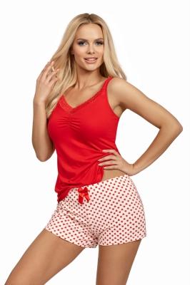 Pijama model 149145 Donna rosu