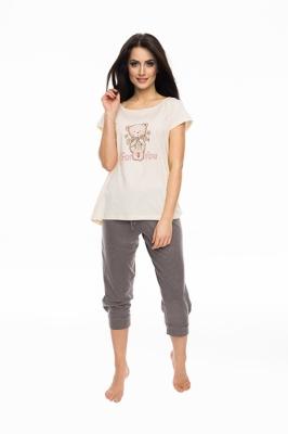 Pijama model 150007 Rossli roz