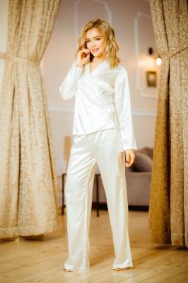 Pijama model 151036 Kalimo bej