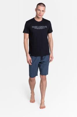Pijama model 151170 Henderson negru