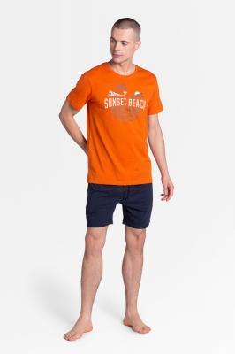 Pijama model 152053 Henderson portocaliu