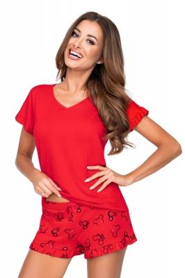 Pijama model 156814 Donna rosu