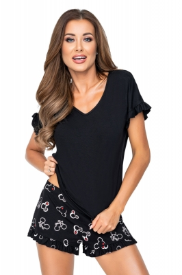 Pijama model 156815 Donna negru
