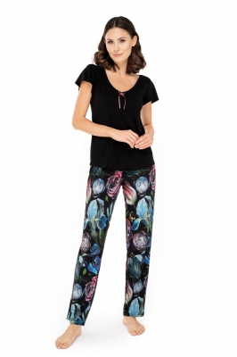 Pijama model 156898 Babella negru