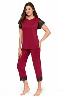 Pijama model 156901 Babella rosu