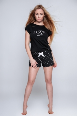 Pijama model 156955 Sensis negru