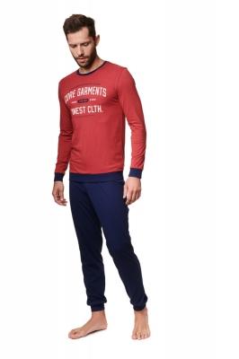 Pijama model 157056 Henderson rosu