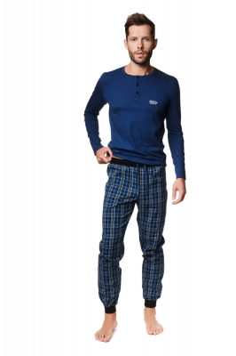 Pijama model 157062 Henderson albastru
