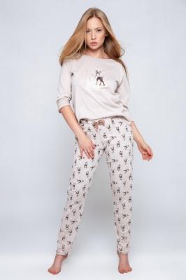 Pijama model 157073 Sensis bej