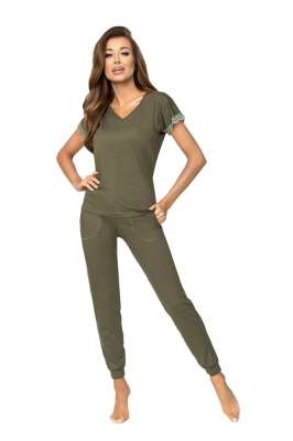 Pijama model 157087 Donna verde