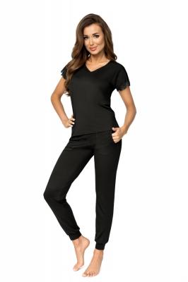 Pijama model 157088 Donna negru