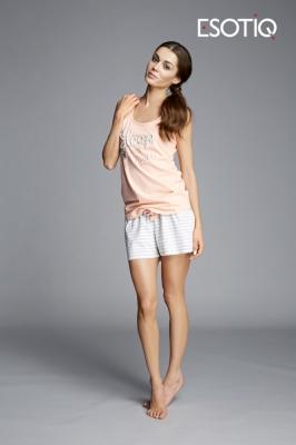 Pijama model 43066 Esotiq alb