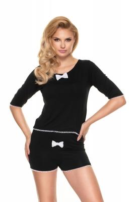 Pijamale Model 0193 Black - PeeKaBoo negru