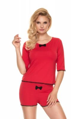 Pijamale Model 0193 Red - PeeKaBoo rosu