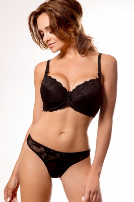 Push-up model 73726 PariPari Lingerie negru