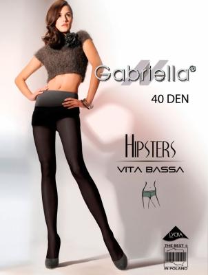 Rajstopy Hipsters code 115 40DEN (6 Colours) - Gabriella Captuseala