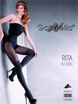Rajstopy Rita 40DEN Nero - Gabriella Captuseala