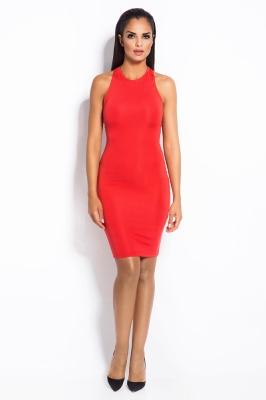Rochie de seara model 104415 Dursi rosu