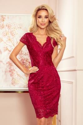 Rochie de seara model 153755 Numoco rosu