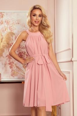 Rochie de zi model 156864 Numoco roz