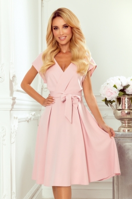 Rochie de zi model 156866 Numoco roz