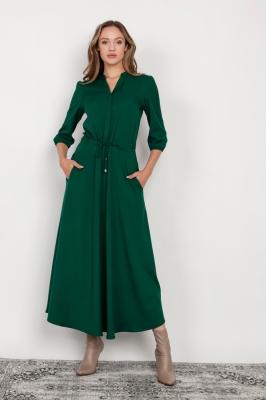 Rochie de zi model 159006 Lanti verde